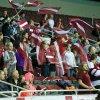 Lotyšští fanoušci se konečně mohli radovat z výhry svého týmu. Foto: Flickr IFF