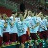 Lotyši konečně vyhráli a připsali si první výhru na domácím MS. Foto: Flickr IFF