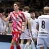 Marek Beneš slaví svůj gól. Foto: Per Wiklund