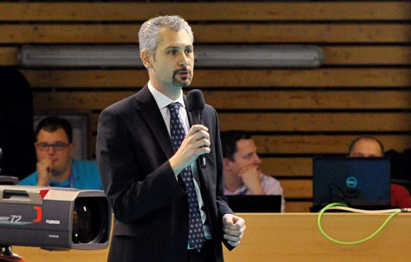Filip Šuman. Foto: Flickr Český florbal