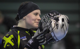 Laura Loisa. Foto: flickr floorball.fi