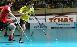 Richard Michalík ve finále extraligy 2007. Foto: Ladislav Káňa