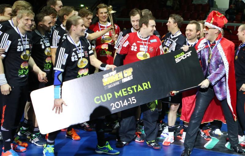 SSV Helsinky, vítězové Finského poháru. Foto: flickr Salibandyliiga