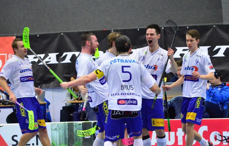 Vítkovice vyhrály na Chodově a postupují do semifinále. Foto: Vlaďka Zoubková