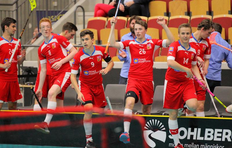 Čeští hráči zvládli druhý zápas na MS skvěle. Foto: IFF Flickr, Calle Ström.