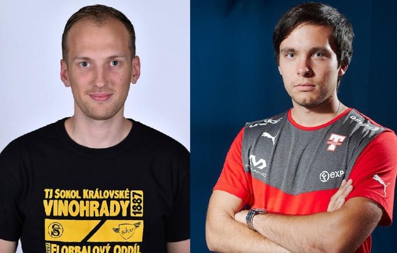 Jan Pazdera a Jiří Jakoubek. Foto: Facebook