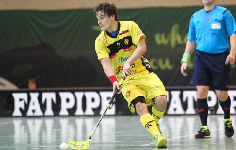 Michal Podhráský. Foto: Raphael Studer, unihockey.ch