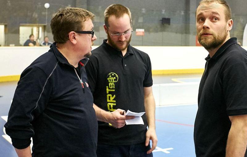Zdeněk Skružný, David Derka a Teemu Tuhkanen. Foto: facebook Start98