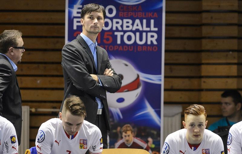 Milan Tomašík, Radim Cepek, Patrik Suchánek. Foto: Martin Flousek, flickr Český florbal