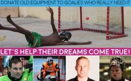 Pomozte gólmanům na celém světě