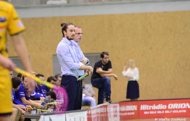 Vítkovičtí trenéři Pavel Brus a Jan Vavrečka. Foto: Vlaďka Zoubková