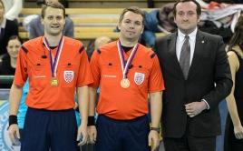 Martin Valenta, Michal Žďárský a Radek Hora. Foto: Flickr Český florbal