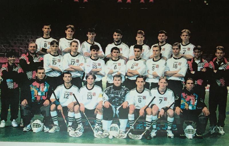 Reprezentace ČR na MS 1996