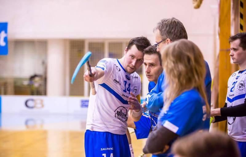 Karel Ťopek (14) je ústřední postavou otrokovického klubu. Foto: Facebook Panthers Otrokovice