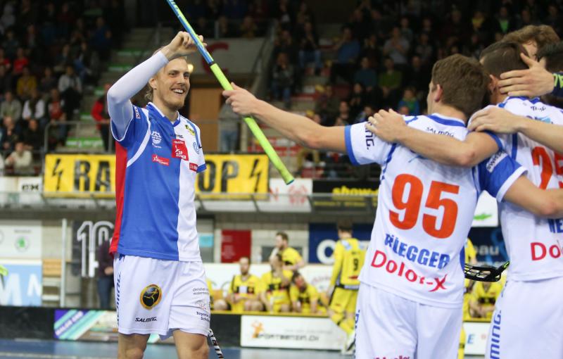 Kim Nilsson, největší hvězda švýcarské ligy, dovedl Grasshoppers po 4 letech do boje o titul. Foto: Severin Binkert
