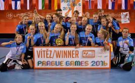 Florbalistky Northern Stars si odvezli do Finska hned 2 zlata! Foto: Praguegames.cz.