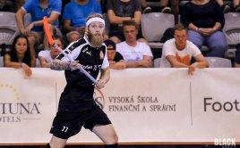 Adam Štegl ve finále Czech Open. Foto: Štěpán Černý