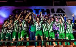 Dorostenci Bohemky slaví zlato na Gothia cupu 2017. Foto: Gothia Innebandy Cup