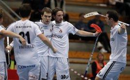 Matěj Jendrišák slaví gól v dresu Linköpingu. Foto: Per Wiklund