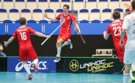 Češi v závěru vybojovali cenné vítězství proti Švýcarům. Foto: Flickr IFF