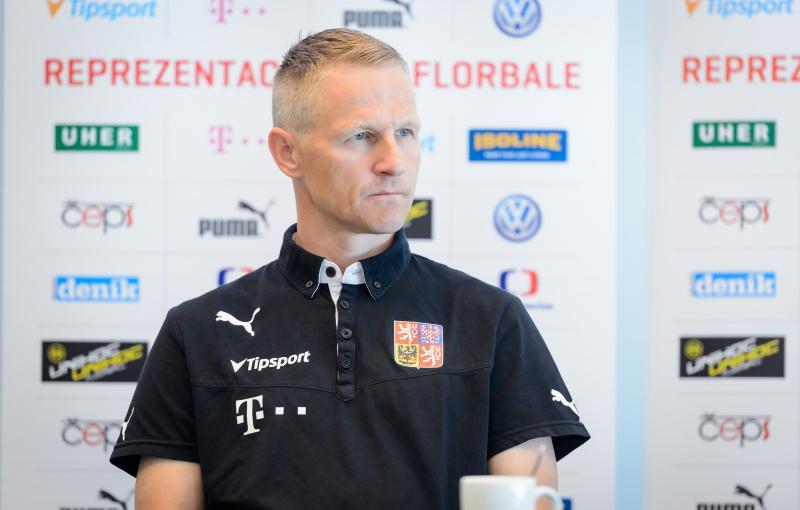 Petri Kettunen, kouč českého národního týmu. Foto: Martin Flousek, Český florbal