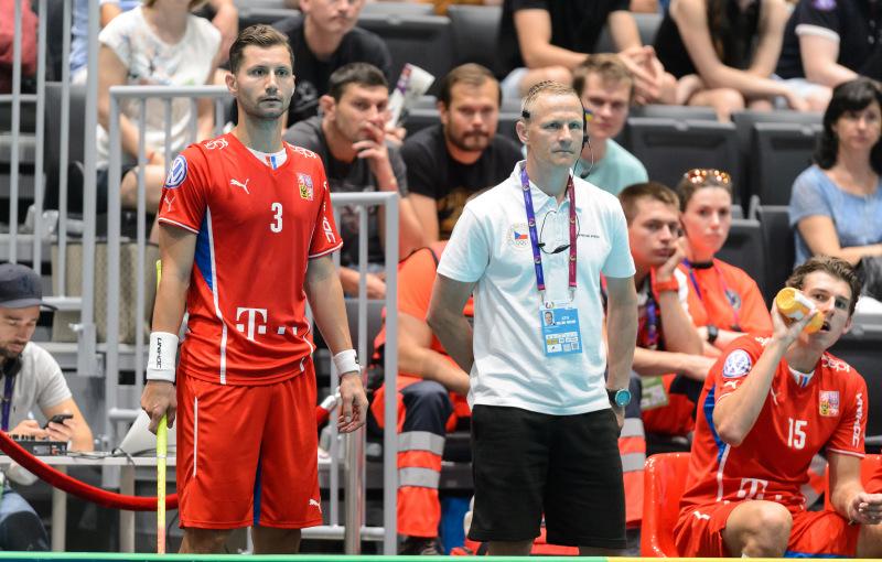 Světové hry: Dan Šebek a Petri Kettunen. Foto: flickr Český florbal