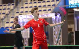Filip Langer v dresu národního týmu. Foto: Tatran Střešovice