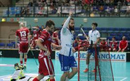 Marzin Koutný slaví jeden z osmi gólů v síti Weissenfelsu. Foto: flickr IFF, Olli-Matti Matilahti