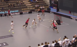 Hannes Karlsson zaskočil obranu Linköpingu. Foto: TV4Sporten