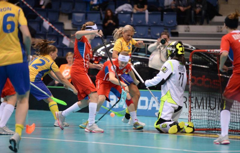 Švédky porazily Češky 7:1. Foto: Flickr IFF