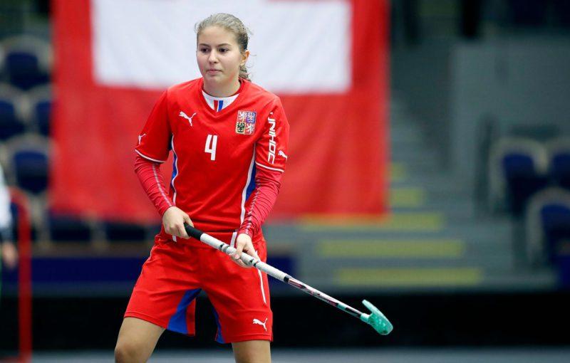 Michaela Kubečková bude jednou z nejmladších hráček týmu. Foto: Český florbal