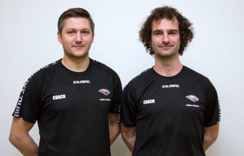 Ladislav Štencl a Jan Černohorský se stali novými trenéry Pardubic. Foto: Sokol Pardubice