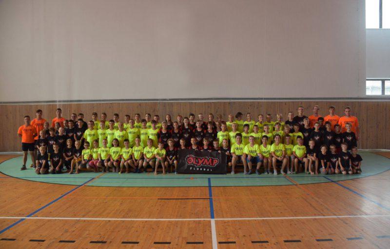 Pražský klub Olymp má širokou mládežnickou základnu.