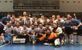 Mladá Boleslav už je dvojnásobným vítězem Bohemia Trophy. Foto: Technology Florbal MB