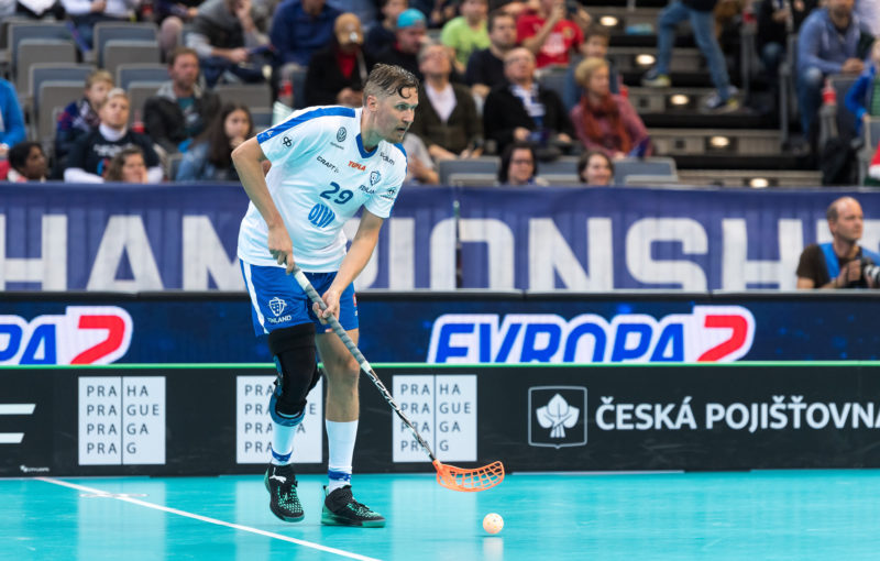 Mika Kohonen si zatím připsal na MS dvě asistence. Na první gól tak čeká. Foto: Flickr IFF