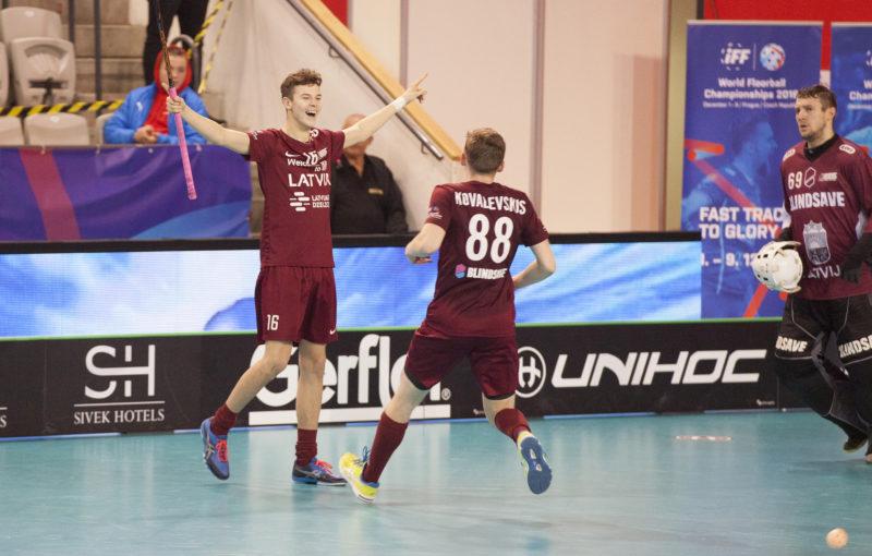 Klāvs Jansons byl opět ústřední postavou svého týmu. Foto: Flickr IFF