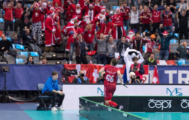 Tim Braillard vystřelil Švýcarům postup mezi nejlepší čtyři týmy turnaje. Foto: Flickr IFF