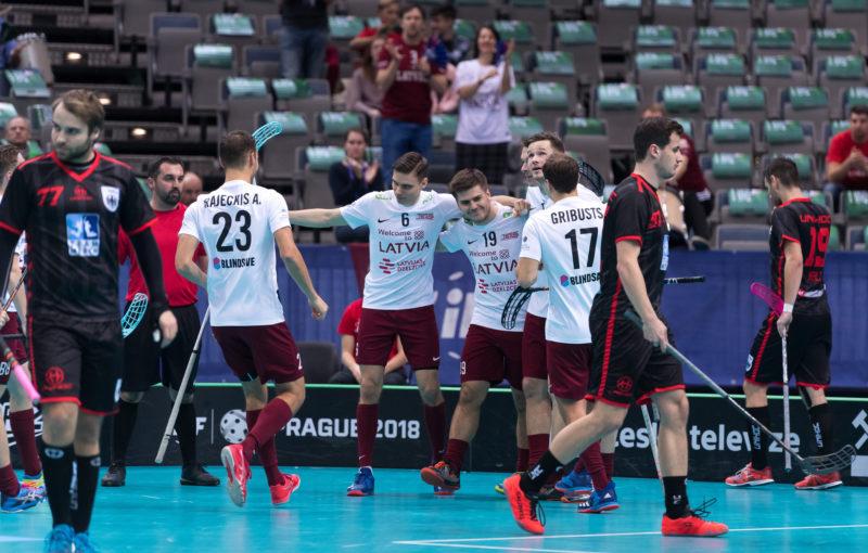 Až na druhý pokus se Lotyšům podařilo Němce na tomto šampionátu zdolat. Foto: Flickr IFF