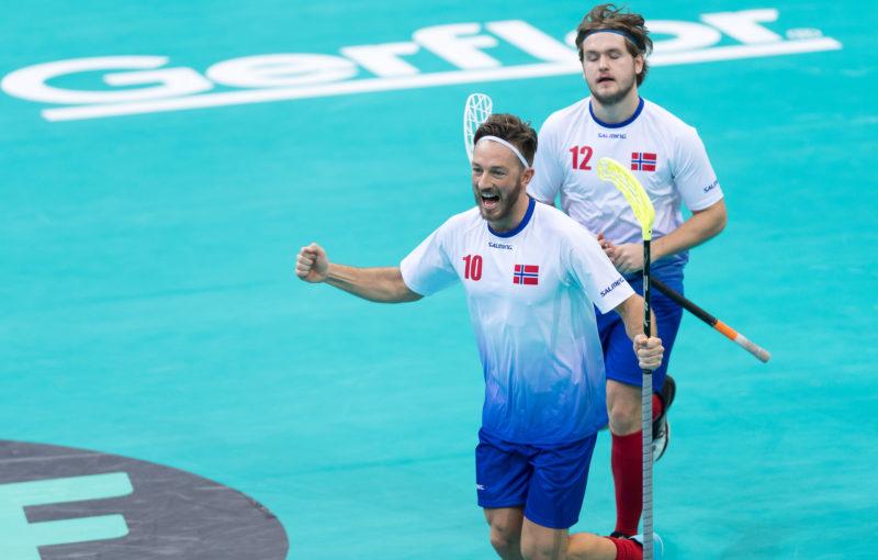 Ole Mossin Olesen se raduje ze svého parádního gólu. Foto: Flickr IFF