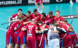 Češi nasázeli Dánům ve čtvrtfinále 10 branek. Foto: Martin Flousek, Český florbal