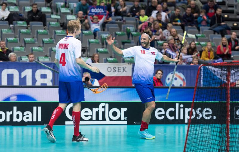 Ole Mossin Olesen nadchl diváky dvěma freestylovými kousky. Foto: Flickr IFF