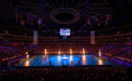 Zahájení mistrovství světa v Praze. Foto: Martin Flousek, Český florbal