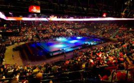 Pohled na arénu v Curychu, kde se mistrovství konalo v roce 2012. Foto: IFF