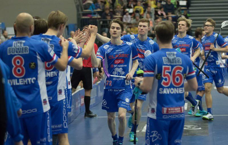 Hráči Classic jsou už tři roky vládci finského florbalu. Foto: Salibandy Club Classic