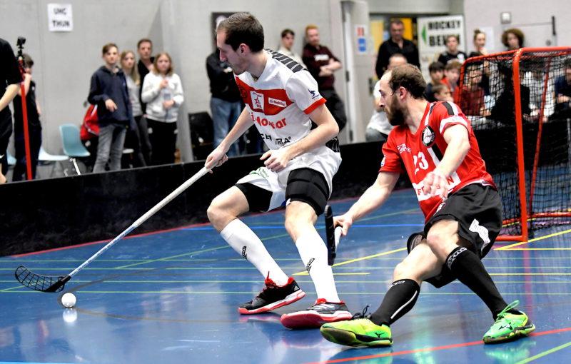 David Šimek před novou sezonou prodloužil smlouvu. Foto: Hans Mischler, Flickr Swiss unihockey