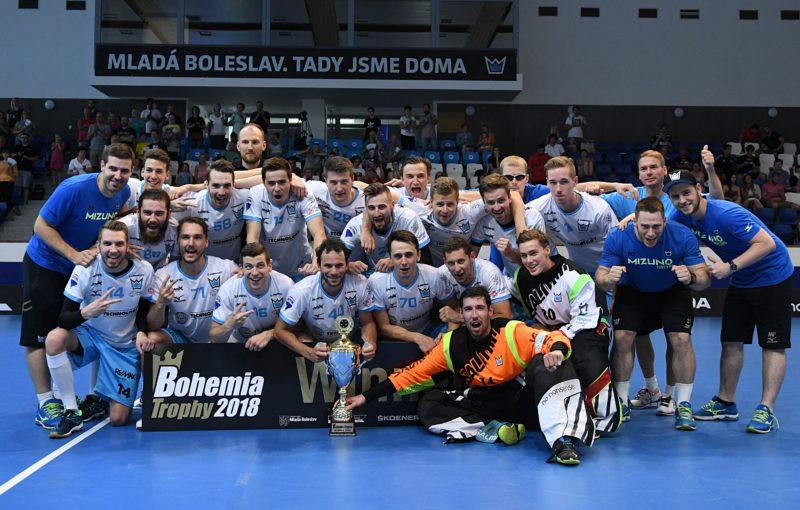 Mladá Boleslav loni triumfovala na domácím Bohemia Trophy. Foto: Florbal Mladá Boleslav