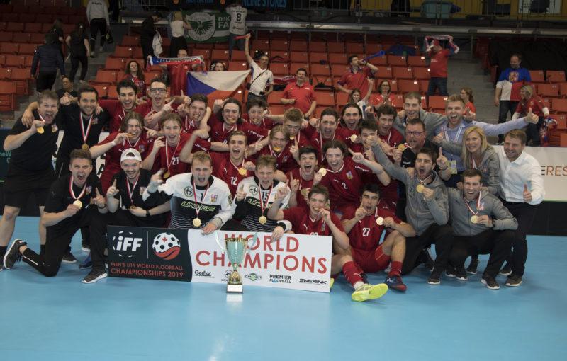 Česká reprezentace - juniorští mistři světa 2019! Foto: Flickr IFF