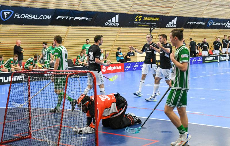 Hráči Hattricku doma porazili Bohemku v prodloužení. Foto: FBŠ Hummel Hattrick Brno