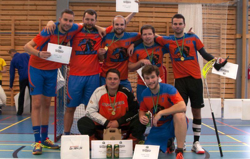 Vítězný tým premiérového ročníku Hořkapu - FBC Blue Horses. Foto: Hořkap 2019