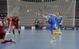 Alexander Galante Carlström v duelu s Čechy znovu potvrdil svou extratřídu. Foto: Esa Jokinen